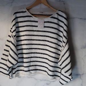 Free People Bardot Drop Women's Shoulder Sweater